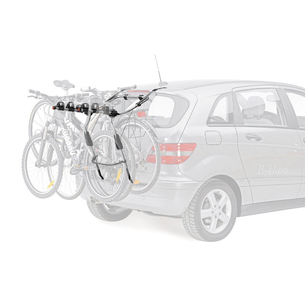 Thule clipon 9103 3 bike hatchback rear carrier probikeshop for Porte velo hayon