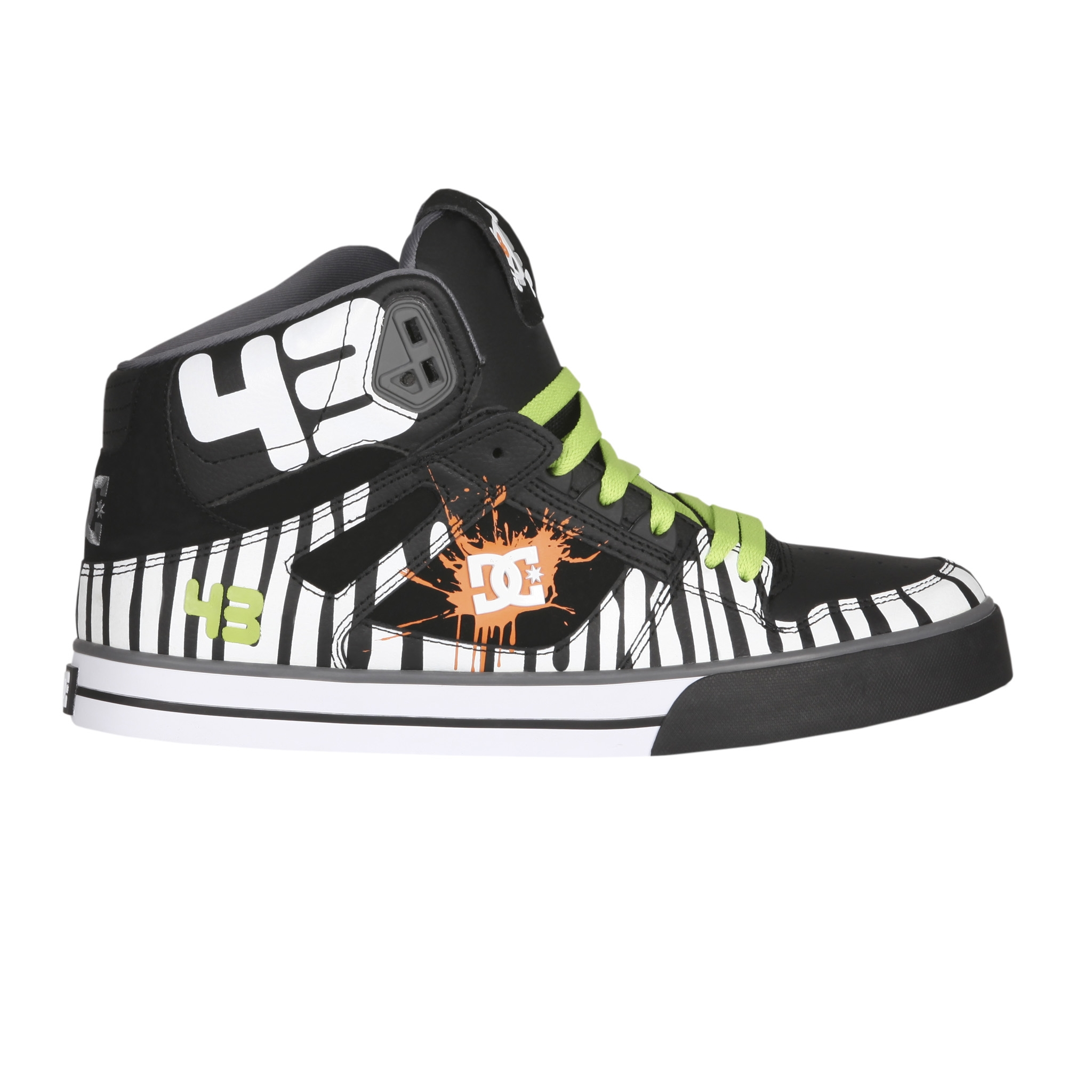 71331 DC SHOES Chaussures BLOCK SPARTAN HI WC Noir Soft Lime Citrus2 So, like I said, you are getting on a new band for not a lot of money  but ...