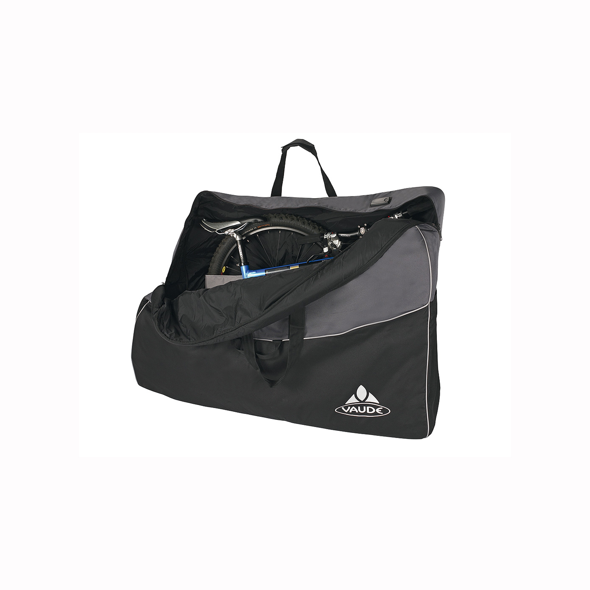Vaude big bike bag bike bag probikeshop for Housse vtt transport